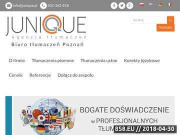 Zrzut strony Biuro tłumaczeń, tłumaczenia ustne oraz tłumaczenia pisemne