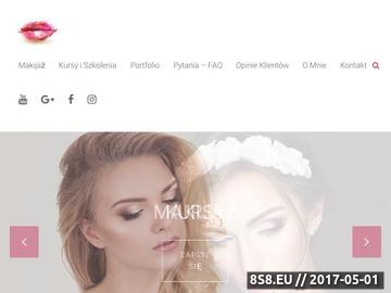 Zrzut strony Makijaż Warszawa