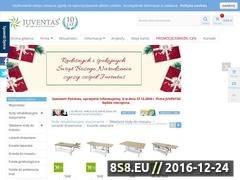 Thumbnail of Sprzęt rehabilitacyjny Juventas Website