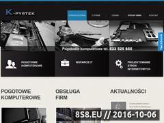 Miniaturka domeny k-pyrtek.pl