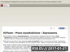Miniaturka domeny k2team.com.pl