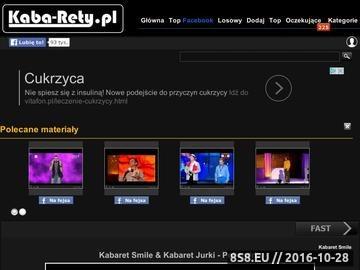 Zrzut strony Polskie kabarety
