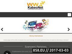 Miniaturka domeny www.kabeonet.pl