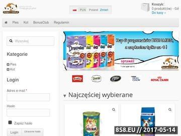 Zrzut strony Karmy dla psów i kotów - kacper-i-latek.pl
