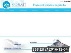 Miniaturka domeny kad-plast.pl