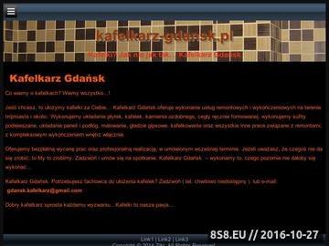 Zrzut strony Kafelkarz Gdańsk