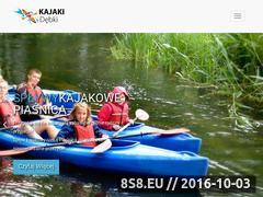 Miniaturka domeny kajakidebki.pl