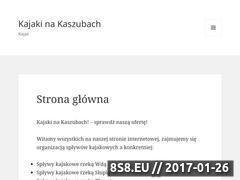 Miniaturka domeny www.kajakinakaszubach.pl