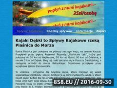 Miniaturka domeny kajakipiasnica.pl
