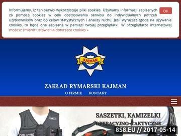 Zrzut strony Kamizelki taktyczne