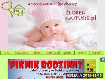 Zrzut strony Żłobek Warszawa, Białołęka, Tarchomin