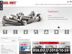 Miniaturka domeny www.kal-met.pl