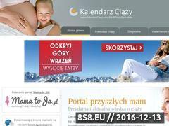 Miniaturka domeny kalendarzciazy.com