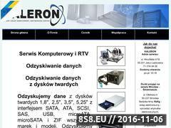 Miniaturka domeny kaleron.pl