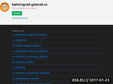 Zrzut strony Gdansk-Kaliningrad-Gdansk