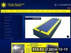 Miniaturka domeny www.kalisto.pl