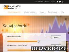 Miniaturka domeny kalkulator-pozyczek.pl