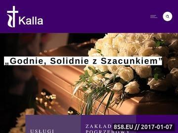 Zrzut strony Usługi pogrzebowe ndm