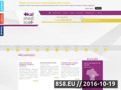 Miniaturka domeny www.kalmedica.com.pl