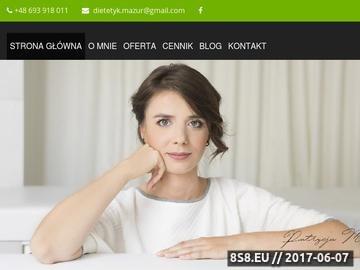Zrzut strony Poradnia dietetyczna Poznań