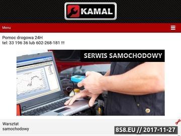 Zrzut strony Pomoc drogowa z Bielska