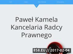 Miniaturka domeny kamela-kancelaria.pl