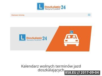 Zrzut strony Jazdy doszkalające Warszawa w OSK Q-Mobil z dojazdem do klienta.