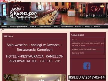 Zrzut strony KAMELEON restauracja - bankiety