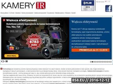 Zrzut strony Kamery termowizyjne FLIR Systems, szkolenia termowizyjne.
