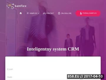 Zrzut strony System CRM i ERP