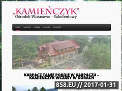 Miniaturka domeny kamienczyk.tp1.pl