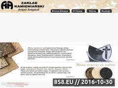Miniaturka domeny www.kamieniarstwo-antypiuk.pl