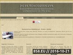 Miniaturka domeny kamieniarstwo-kolodziejczyk.pl