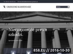 Miniaturka domeny kamieniarz.gniezno.pl