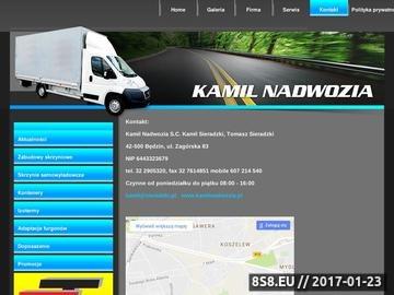 Zrzut strony Kamil Nadwozia - doposażenie
