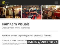 Miniaturka domeny kamkam-visuals.tv