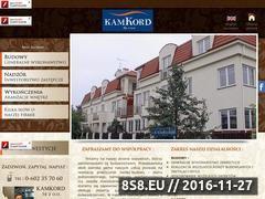 Miniaturka domeny kamkord.pl