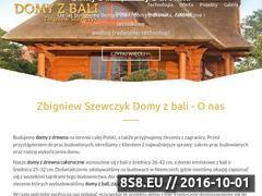 Miniaturka domeny kanadyjskiedomy.pl