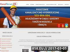 Miniaturka domeny www.kanal-serwis24.pl