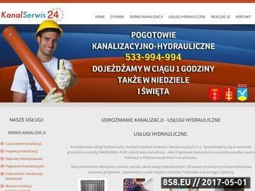 Zrzut strony Pogotowie Kanalizacyjne Gdańsk