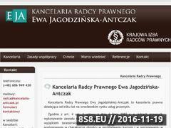 Miniaturka domeny www.kancelaria-antczak.pl