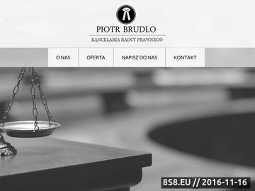 Zrzut strony Szeroki wachlarz usług prawniczych