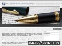 Miniaturka domeny www.kancelaria-ciborowski.pl
