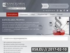 Miniaturka domeny kancelaria-cieslak.pl
