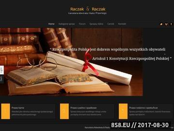 Zrzut strony Kancelaria wrocław