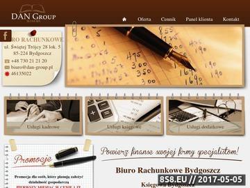 Zrzut strony Kancelaria Doradztwa Podatkowo-Księgowego D. Kubińska - doradztwo księgowe