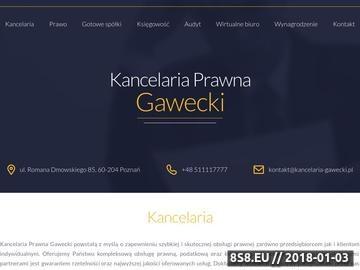 Zrzut strony Pomoc prawna Poznań