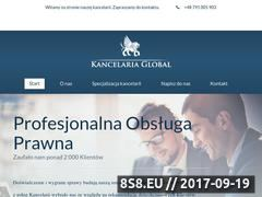 Miniaturka domeny kancelaria-global.pl