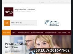 Miniaturka domeny kancelaria-golebiowska.com.pl