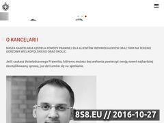 Miniaturka domeny www.kancelaria-hrybacz.pl